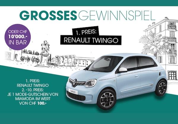 Renault Twingo gewinnen