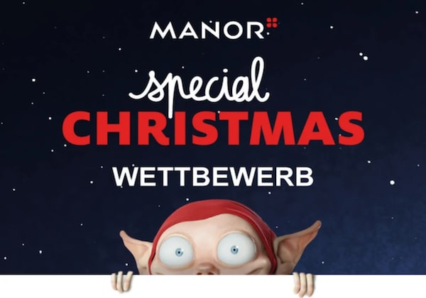 Manor Geschenkkarte gewinnen