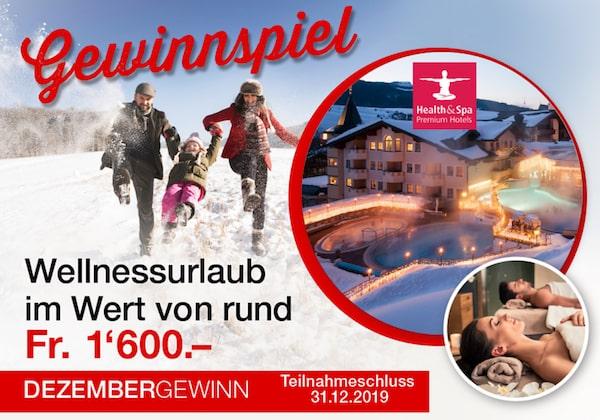 Wellnessurlaub Österreich gewinnen