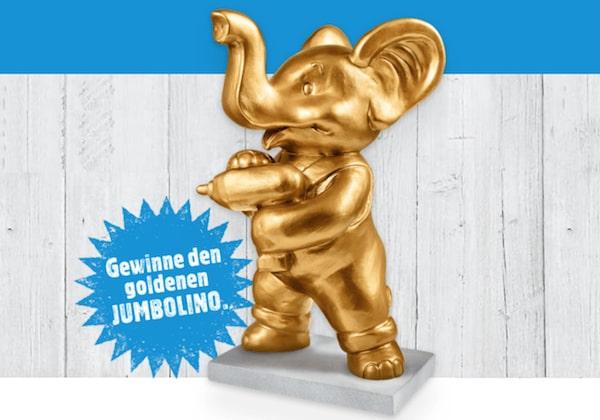 Goldenen JUMBOLINO mit persönlicher Gravur gewinnen
