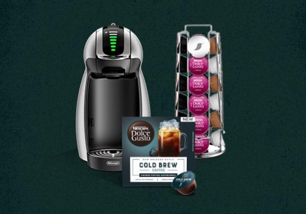 Delonghi Genio 2 Automatik Kaffeemaschine gewinnen