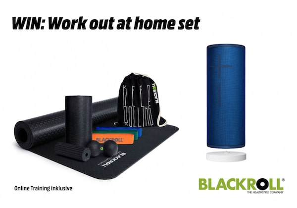 Home Workout Set von Blackroll und Ultimate Ears gewinnen