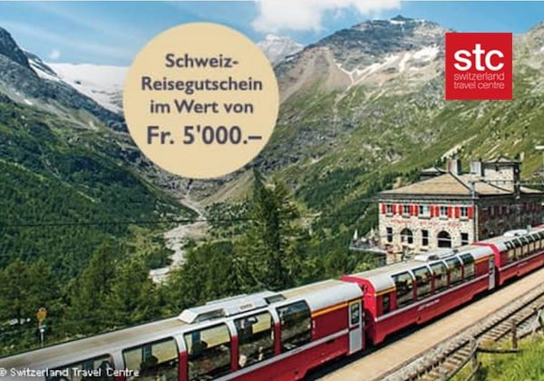 CHF 5'000 Reisegutschein von STC gewinnen