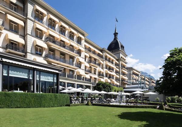 Weekend im Deluxe Hotel Victoria-Jungfrau in Interlaken gewinnen