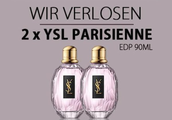 YSL Parisienne Eau de Parfum gewinnen