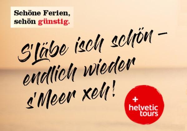 Helvetic Tours Reisegutschein gewinnen