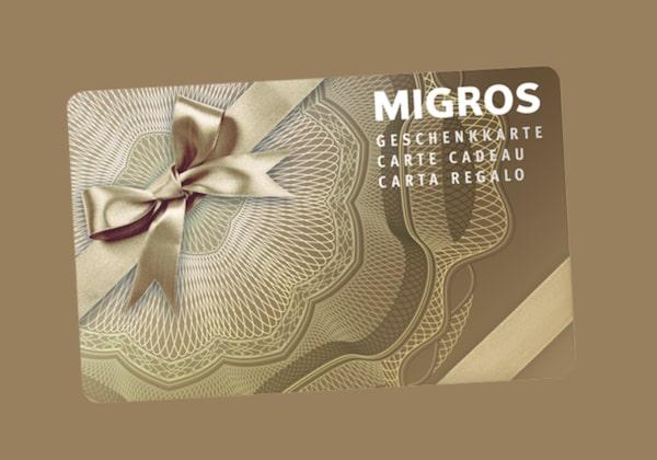 Migros Geschenkkarten gewinnen