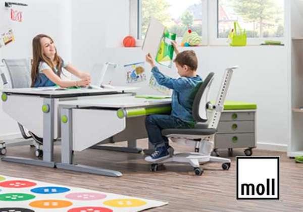 Kinderbürostuhl von moll gewinnen